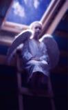 Σιωπηλός άγγελος Στοκ φωτογραφία με δικαίωμα ελεύθερης χρήσης