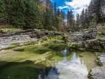 Σιωπηλό νερό στοκ φωτογραφίες με δικαίωμα ελεύθερης χρήσης