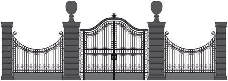 Σιδερώστε την πύλη Στοκ φωτογραφία με δικαίωμα ελεύθερης χρήσης