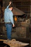 σιδηρουργός παλαιός Στοκ φωτογραφία με δικαίωμα ελεύθερης χρήσης