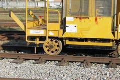Σιδηροδρομικές μεταφορές Στοκ εικόνα με δικαίωμα ελεύθερης χρήσης