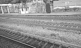 Σιδηροδρομικές μεταφορές Στοκ φωτογραφίες με δικαίωμα ελεύθερης χρήσης