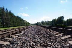 Σιδηροδρομική γραμμή στοκ φωτογραφίες
