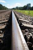 Σιδηροδρομική γραμμή στοκ εικόνα με δικαίωμα ελεύθερης χρήσης