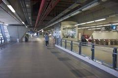 Σιδηροδρομική σύνδεση αερολιμένων Suvarnabhumi Στοκ Εικόνα