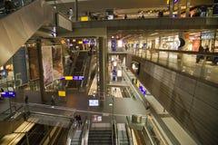 Σιδηροδρομικός σταθμός Βερολίνο Στοκ Εικόνες