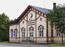 Σιδηροδρομικός σταθμός σε Kokkola Φινλανδία Στοκ Εικόνα