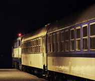 Σιδηροδρομικός σταθμός σε Zelezna Ruda cesky τσεχική πόλης όψη δημοκρατιών krumlov μεσαιωνική παλαιά Στοκ Φωτογραφίες