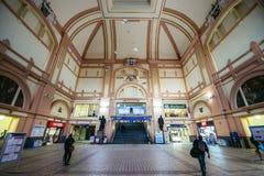 Σιδηροδρομικός σταθμός στο Πίλζεν Στοκ Εικόνα