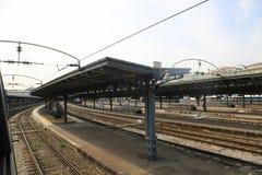 Σιδηροδρομικός σταθμός στο Παρίσι Στοκ φωτογραφία με δικαίωμα ελεύθερης χρήσης