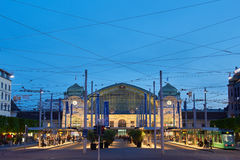 Σιδηροδρομικός σταθμός της Βασιλείας Στοκ Φωτογραφία
