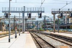 Σιδηροδρομικός σταθμός της Μασσαλίας ST Charles Στοκ Φωτογραφίες