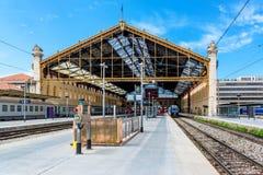 Σιδηροδρομικός σταθμός της Μασσαλίας ST Charles Στοκ φωτογραφία με δικαίωμα ελεύθερης χρήσης