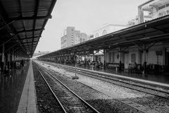 Σιδηροδρομικός σταθμός της Μπανγκόκ Στοκ εικόνα με δικαίωμα ελεύθερης χρήσης