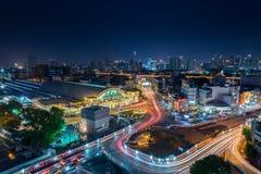 Σιδηροδρομικός σταθμός της Μπανγκόκ στοκ εικόνα