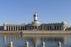 Σιδηροδρομικός σταθμός της πόλης Tianjin Στοκ εικόνα με δικαίωμα ελεύθερης χρήσης