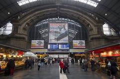 Σιδηροδρομικός σταθμός της Φρανκφούρτης, Γερμανία Στοκ φωτογραφία με δικαίωμα ελεύθερης χρήσης
