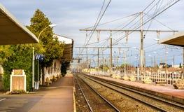 Σιδηροδρομικός σταθμός Arles - της Γαλλίας Στοκ Εικόνα
