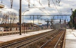 Σιδηροδρομικός σταθμός Arles - της Γαλλίας Στοκ φωτογραφία με δικαίωμα ελεύθερης χρήσης