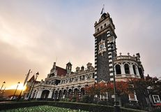Σιδηροδρομικός σταθμός Dunedin Στοκ φωτογραφίες με δικαίωμα ελεύθερης χρήσης