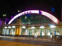 σιδηροδρομικός σταθμός hua lam phong Στοκ φωτογραφία με δικαίωμα ελεύθερης χρήσης