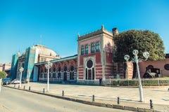 Σιδηροδρομικός σταθμός Sirkeci στη Ιστανμπούλ στοκ φωτογραφίες