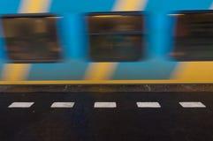 σιδηροδρομικός σταθμός &ta Στοκ Εικόνα