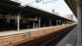 Σιδηροδρομικός σταθμός Taichung HD απόθεμα βίντεο