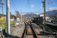 Σιδηρόδρομοι στην Ιαπωνία Στοκ φωτογραφία με δικαίωμα ελεύθερης χρήσης