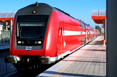 Σιδηρόδρομοι του Ισραήλ Στοκ Εικόνες