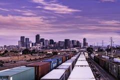 Σιδηρόδρομοι του Ντένβερ Στοκ φωτογραφίες με δικαίωμα ελεύθερης χρήσης