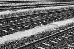 Σιδηρόδρομοι Στοκ εικόνες με δικαίωμα ελεύθερης χρήσης