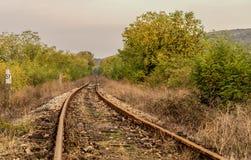 σιδηρόδρομοι Στοκ Εικόνα