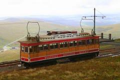 Σιδηρόδρομος βουνών Snaefell Στοκ Φωτογραφίες