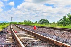 Σιδηρόδρομος για τη μεταφορά, σιδηρόδρομος μεταφορών Στοκ Εικόνες