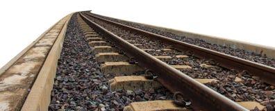 Σιδηρόδρομος για τη μεταφορά, τρόπος ραγών μεταφορών Στοκ Εικόνα