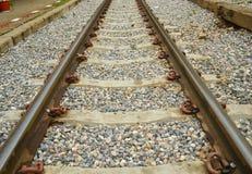 Σιδηρόδρομος για το τραίνο Στοκ Εικόνα