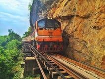 Σιδηρόδρομος θανάτου Στοκ εικόνες με δικαίωμα ελεύθερης χρήσης