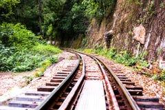 Σιδηρόδρομος θανάτου Στοκ φωτογραφίες με δικαίωμα ελεύθερης χρήσης