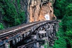 Σιδηρόδρομος θανάτου Στοκ Εικόνα