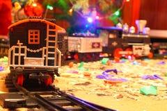 Σιδηρόδρομος παιχνιδιών Στοκ Φωτογραφία