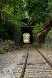 Σιδηρόδρομος σηράγγων στοκ εικόνα με δικαίωμα ελεύθερης χρήσης