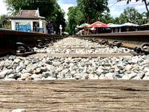 σιδηρόδρομος Ταϊλάνδη Στοκ φωτογραφία με δικαίωμα ελεύθερης χρήσης