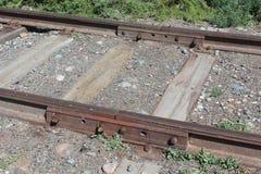 Σιδηρόδρομος της εποχής του Στάλιν Στοκ Φωτογραφία