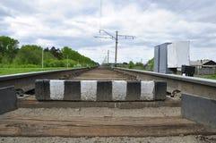 Σιδηρόδρομος. Στοκ εικόνες με δικαίωμα ελεύθερης χρήσης