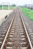 Σιδηρόδρομος Στοκ Φωτογραφίες