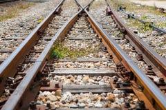 Σιδηρόδρομος crossway στοκ εικόνα με δικαίωμα ελεύθερης χρήσης