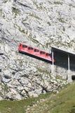 Σιδηρόδρομος Pilatus, Ελβετία Στοκ εικόνες με δικαίωμα ελεύθερης χρήσης