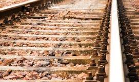 Σιδηρόδρομος, Trento Ιταλία Στοκ Εικόνα