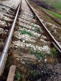 Σιδηρόδρομος upclose Στοκ Φωτογραφίες